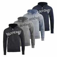 Mens Hoodie Money Clothing Full Zip Sweatshirt  Hooded Jumper