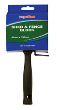 "SupaDec Exterior Wood Timber Garden Shed & Fence Paint Block Brush - 4""/100mm"
