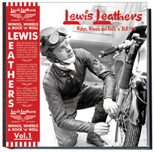 Lewis Leathers Book / Wings, Wheels and R'n'R signed copy with free poster