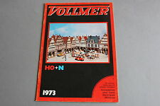 X448 VOLLMER Train catalogue maquette Ho N 1973 32 pages 29,5*21 cm F + tarif