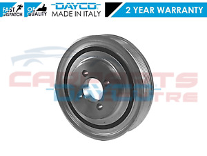 FOR FIAT DUCATO IVECO DAILY GENUINE DAYCO CRANKSHAFT CRANK PULLEY