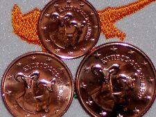 Lot Set Chypre 2012 Serie 1,2,5 Centime Ct Piece Euro Du Rouleau de Qualite Unc