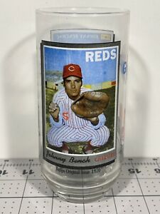1993 McDonalds Topps Glass Johnny Bench Coca Cola MLB All Time Greatest Team