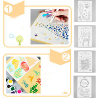 DIY Christmas Hollow Stencils For Painting Scrapbooking Stamping Stamp Album