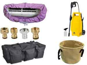 Split Air conditioner cleaning kit AC water pressure ( multi split mold dirt )