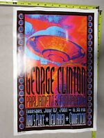 2001 Rock Roll Concert Poster George Clinton New Haven Conn FGX S/N LE # 200