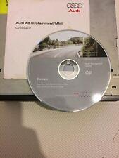 Audi A8 D3 A6 C6 Q7 DVD Sat Nav Navigation Drive SW:4E0910887L 4E0919887C +DVD