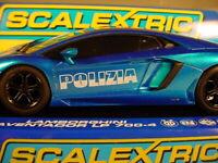 MM Scalextric Lamborghini POLIZIA Aventador MM.C3264 MB #13 of 100