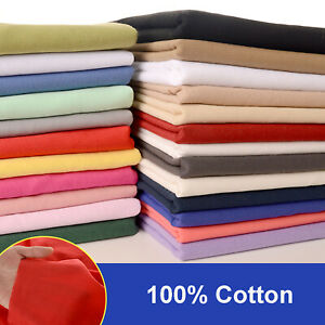 By the Metre 100% Cotton Lining Fabric For Dress Pillow Lining Baby Clothes