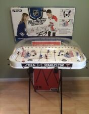STIGA Rodwarriors DEVILS Table ROD HOCKEY Game BUBBLE DOME & Adjustable Stand