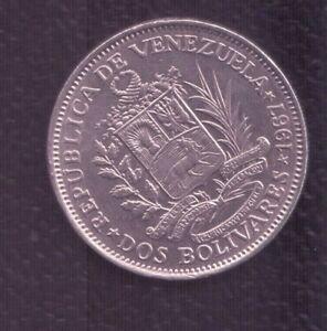 VENEZUELA 2 BOLIVARES 1967
