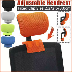 Computer Chair Headrest Adjustable Swivel Lifting Chair Neck Protection Pillow