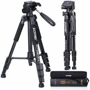 ZOMEI Aluminum Travel Camera Tripod Holder For Camcorder DSLR Phone Canon Nikon