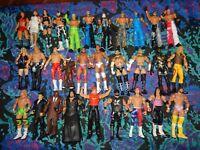 Mattel WWE Elite Lot Hulk Hogan, Macho Man, Mysterio, Mahal, Hart, Gail Kim, CM