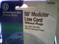 "SOUTHWESTERN BELL - 50' MODULAR LINE "" WITHOUT END PLUGS "" BEIGE"
