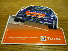 CITROEN WORLD RALLY CHAMPIONSHIP 2006 ORIGINAL STICKER DECAL