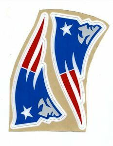 Patriots Alternate Football Helmet Decals Free Shipping