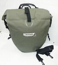 Hochwertige Gepäckträgertasche Einzeltasche Fahrradtasche Wasserdicht Weiss XL