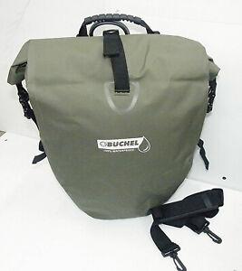Fahrradtasche Packtasche Fahrrad 100 % Wasserdicht Büchel 25 L. grün -Top Bef.