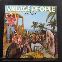 Village People - Go West LP Mint- NBLP 7144 Casablanca 1979 Record w/Poster
