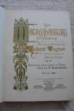 LES MAÎTRES CHANTEURS DE NURENBERG  de Richard WAGNER