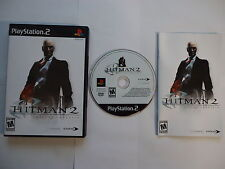 Hitman 2 : Silent Assassin Playstation 2 PS2 Mint Condition CIB Complete in Box*