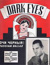 1935 - Bernie Cummins - Dark Eyes (Ochi Chorniya)