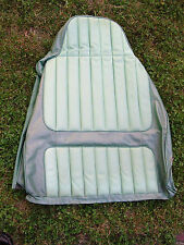 AMC FRONT SEAT BACK FACTORY COVER GREMLIN HORNET MATADOR SPIRIT GREEN
