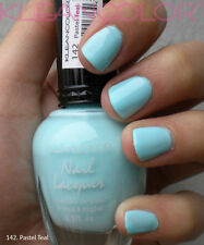 New Kleancolor PASTEL TEAL Nail Polish Lacquer Full Sz
