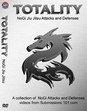 Dvd : Totality: Nogi Jiu Jitsu Attacks & Defences