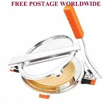 "6 "" DELUXE TORTILLA- PITA - ROTI - PURI -BREAD FLAT PRESS HANDMADE MAKER"