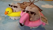 Exclusive IT'SUGAR Duck and Flamingo float Pusheen Plushies