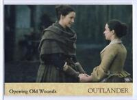 Outlander Season 2 (2017) RAINBOW FOIL BASE Card #42 / OPENING OLD WOUNDS