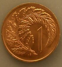 New listing Uncirculated 1974 1 Cent New Zealand Coin Km#31.1 pywyqy