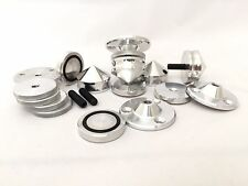 4 x alluminio isolamento piedi punte IF30-P5-10AL-O per giradischi e ALTOPARLANTE!
