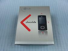 LG KG800 Chocolate Schwarz! Ohne Simlock! TOP ZUSTAND! Einwandfrei! OVP! RAR!