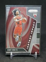 2019-20 Panini Prizm Coby White RC, Rookie Instant Impact, Chicago Bulls
