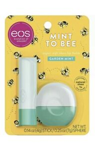 eos Super Soft Shea Lip Balm Stick & Sphere – Mint to Bee | Deeply Hydrates