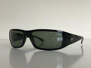Ray Ban RB 4057 W3348 Wrap Black Green Polarized Sunglasses Frame 3P