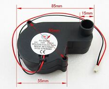 1pcs Brushless DC Cooling Blower Fan 12V 0.25A 55x55x28mm 5028B 2pin Connector