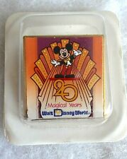 WALT DISNEY WORLD - 20 MAGICAL YEARS - MICKEY MOUSE - PIN BADGE - New In Packet