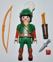 S07H10 Robin Hood playmobil serie 7 5537 medieval