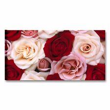 Rose 3 QUADRO MODERNO TELA ARREDAMENTO CASA SPA FIORI QUADRI MODERNI ROSA FLOWER