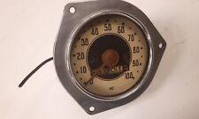 1930s CHEVROLET Standard Speedometer ODOMETER vtg AC spark plug Co Rat Hot Rod