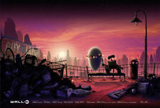 Wall- E Poster 24x36 Numbered #/100 Mondo Kevin Wilson Ape Meets