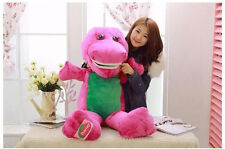 New 90cm Gaint Big Barney The Dinosaur Plush Soft Baby Toy doll Pillow kids Gift