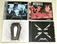 LOT of (13) CD's / METALLICA / SEE PICTURES for TITLES & TRACKS / METAL, ROCK
