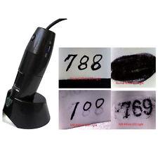 2.0MP 10X-200X USB Digital Microscope NIR Near Infrared LED Light for Win / Mac