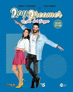 DAYDREAMER DVD LE ALI DEL SOGNO - DVD 27 e 28 + Booklet Can Yaman 10 Puntate