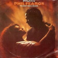 """PHIL FEARON AND GALAXY You Don't Need A Reason 7"""" Record Portugese Island 1985"""